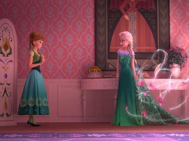 frozen fever Elsa et Anna