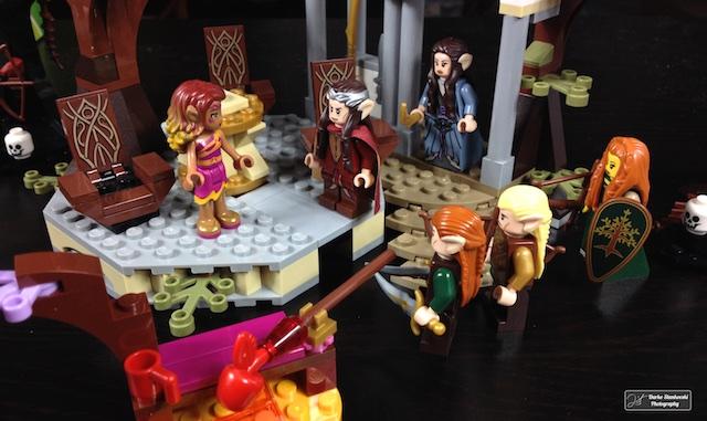 Azari au conseil d'Elrond