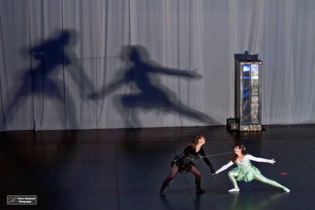 Le duel des ombres
