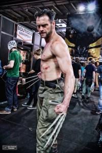 Wolverine se promenait dans les allées de Geekopolis (D.Stankovski)