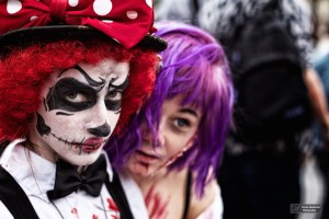 Zombie Walk Paris 2014, Creepy Sad Clown