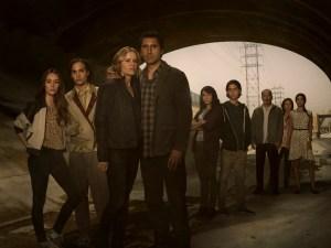 Le cast de Fear the Walking Dead avant les premières victimes.