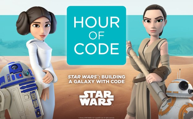 Hour of Code 2015 avec Star Wars
