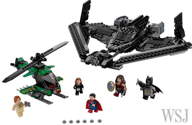 Contenu de la boite Sky High Battle (LEGO via Speakeasy)