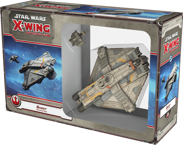Boite du Ghost X-Wing Miniatures Game