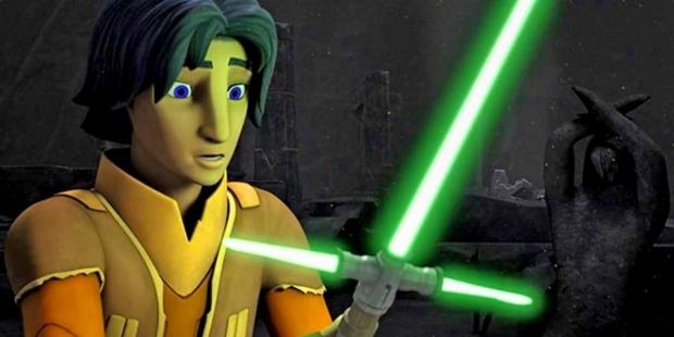 Ezra découvre un sabre à l'apparence qui nous est très familière...