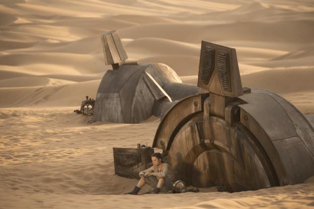 C'est souvent dans les  déserts que naissent les héros.