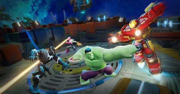 Avec Disney Infinity, vous pouvez jouer les Super Héros Marvel.