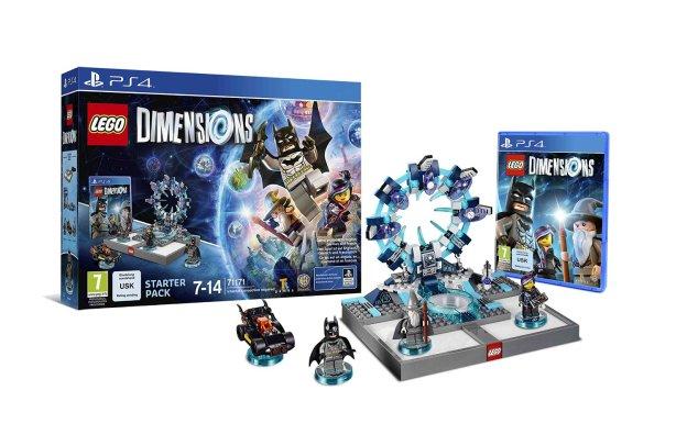 LEGO Dimensions, le Starter Pack pour la PS4.