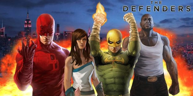 The Defenders, version Comic.