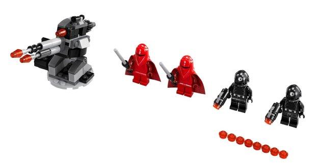 Le contenu de la boite 75034 Death Star Troopers (LEGO)