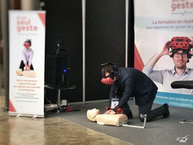 VR pour la formation aux premiers secours