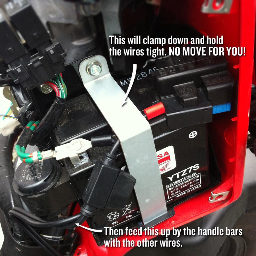 2014 Silverado Fuse Diagram Connecting A Battery Tender To A Honda Ruckus Dadand Com