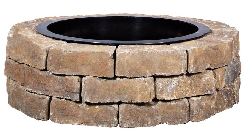How to Build an allenroth Outdoor Fire Pit Kit  dadandcom