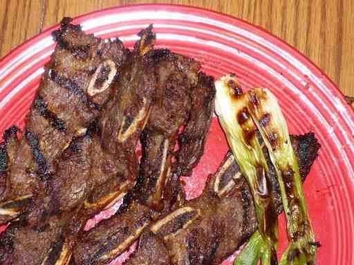 Korean Grilled Short Ribs (Kalbi)   DadCooksDinner.com