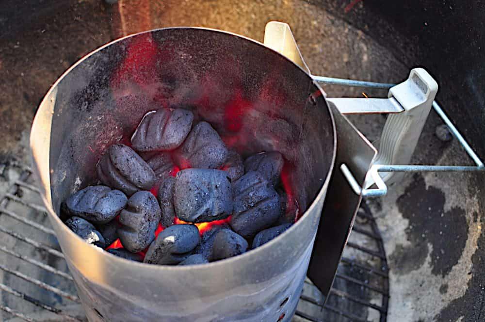 Things I Love Weber Charcoal Chimney Starter Dadcooksdinner
