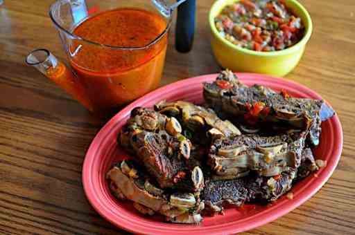Pressure Cooker Short Ribs Mexican Style