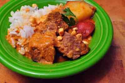 Pressure Cooker Massaman Beef Curry