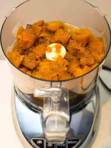 Pressure Cooker Butternut Squash with Sage and Honey | DadCooksDinner.com