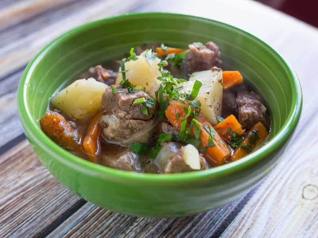 Mutton stew with vegetables: tips and recipes 22