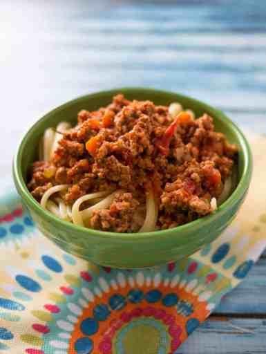 Pressure Cooker Italian Meat Sauce | DadCooksDinner.com