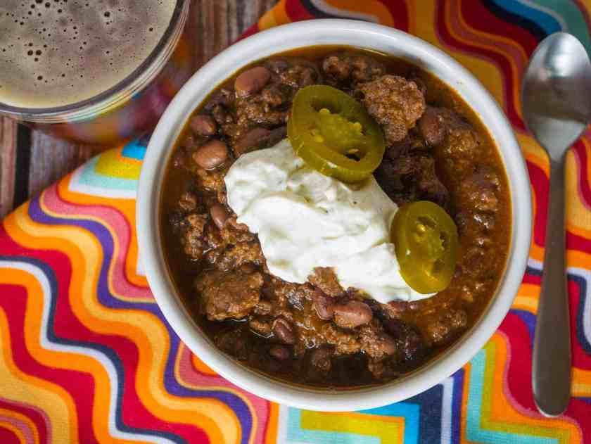 Pressure Cooker Turkey and Black Bean Chili | DadCooksDinner.com