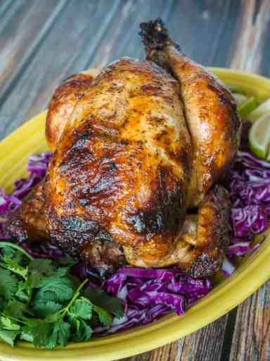 Rotisserie Chicken Pollo Asado   DadCooksDinner.com