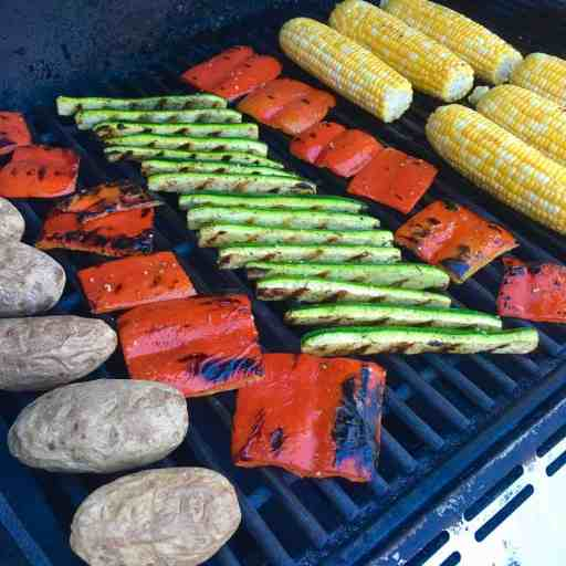 Picoftheweek - Late Summer Veggies on the Grill | DadCooksDinner.com