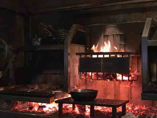 Miller's Guild wood fired grill
