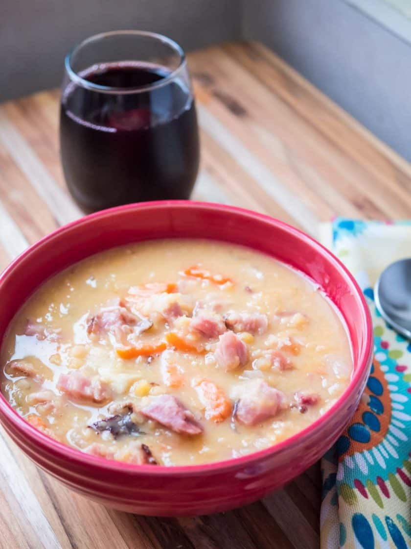 Throwback Thursday: Leftover Easter Hambone and Yellow Pea Soup - DadCooksDinner