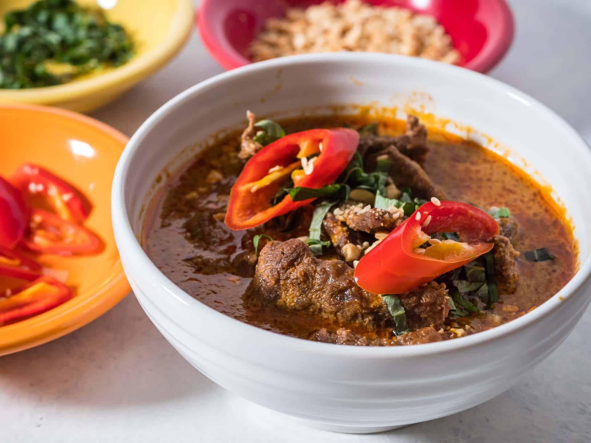 Pressure Cooker Thai Panang Beef Curry - DadCooksDinner