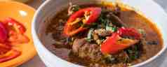 Pressure Cooker Thai Panang Beef Curry