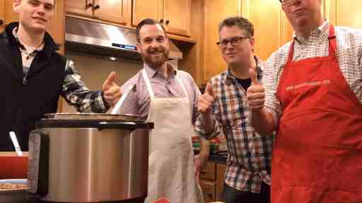 Behind the scenes Time Lapse - Chili Facebook Live Video with Certified Angus Beef | DadCooksDinner.com