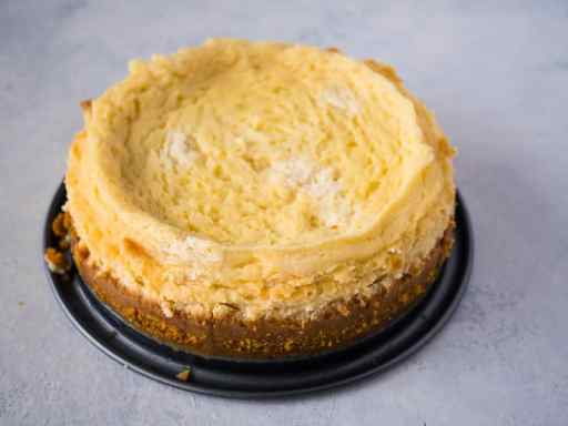 Cheesecake Disaster | DadCooksDinner.com