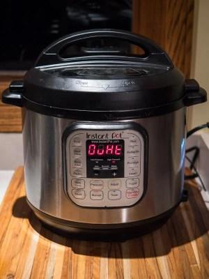 The dreaded Instant Pot OvHt code | DadCooksDinner.com