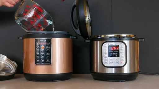 Fagor Lux vs Instant Pot - Pressure Cooking time to pressure showdown | DadCooksDinner.com