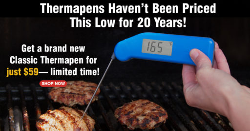 Sale on the Thermoworks Classic Thermapen | DadCooksDinner.com