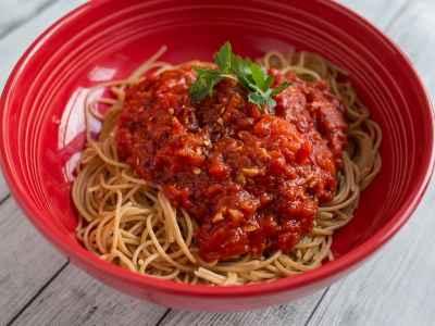Pressure Cooker Quick Tomato Sauce | DadCooksDinner.com