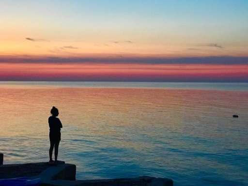 Sunset over Lake Erie | DadCooksDinner.com
