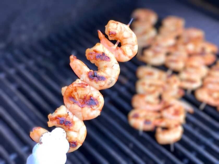 Shrimp on the barbie | DadCooksDinner.com