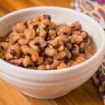 Pressure Cooker Black-Eyed Peas | DadCooksDinner.com