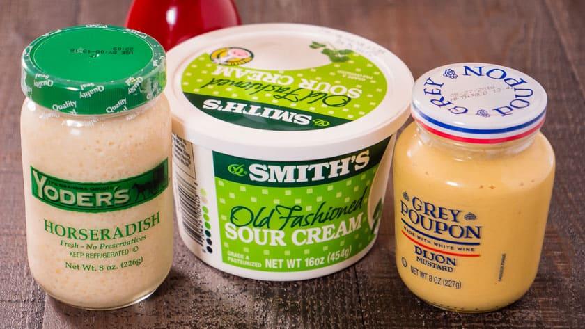 Quick Horseradish Sauce Ingredients   DadCooksDinner.com