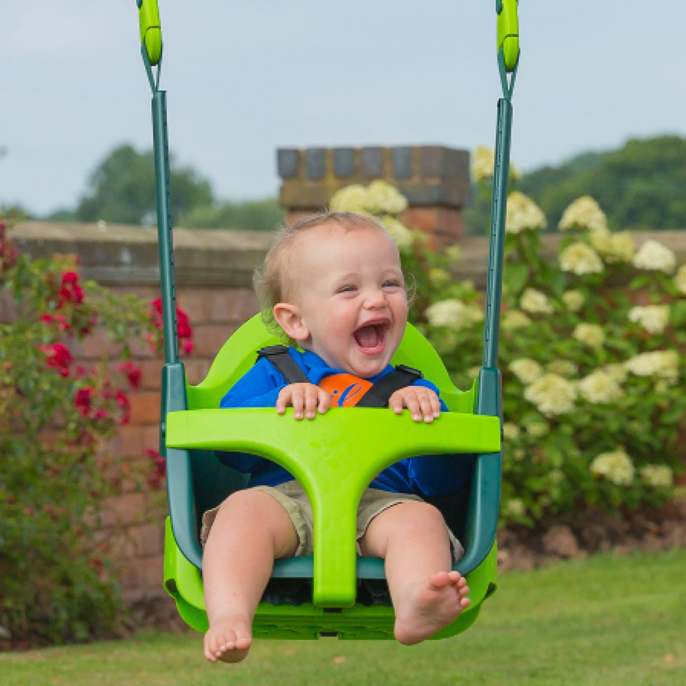 The Grow With Me Baby Swing