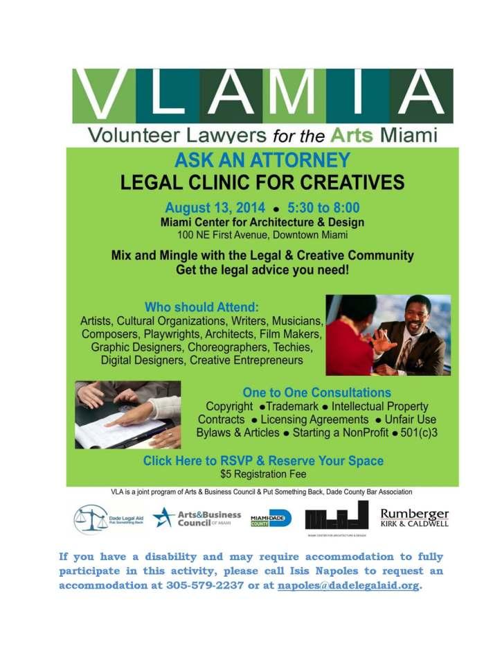 VLFa - Aug 13 Clinic