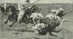 صيادو النعام أو الباحثون عن الحريم
