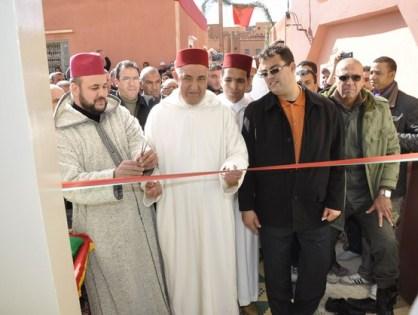 تنغير:افتتاح مسجد انرارن بحي ايت اوجنا