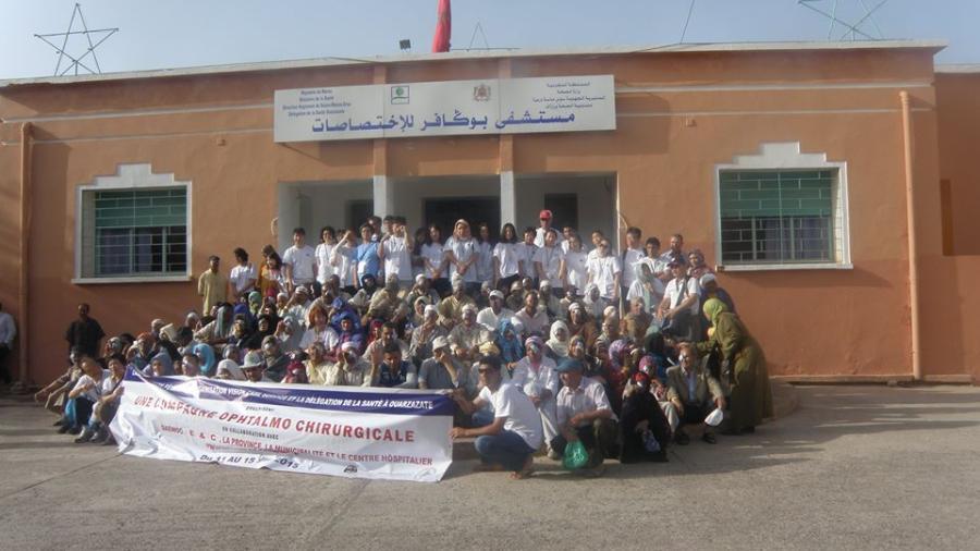 جمعية AFDF بخميس دادس في حملة طبية لجراحة العيون بورزازات
