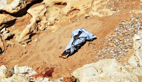 جثة-الضحية