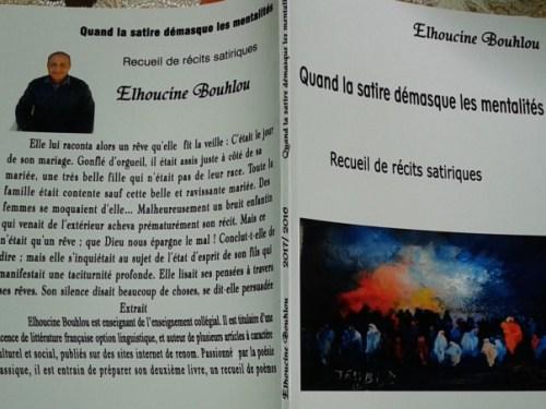 Vient de paraître : «Quand la satire démasque les mentalités» par Elhoucine Bouhlou