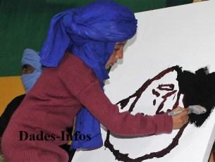 هكذا خلدت هذه الطفلة ذكرى «استشهاد» عمر خالق